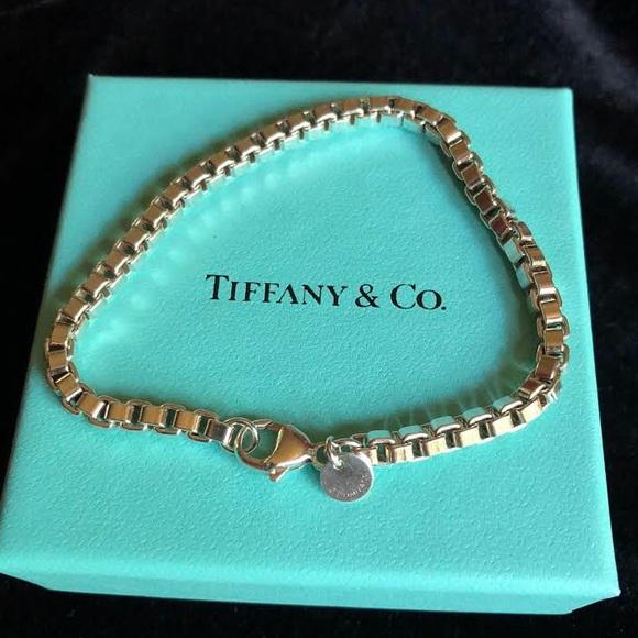 2de354bc4 Tiffany & Co. Jewelry | Tiffanys Venetian Link Bracelet | Poshmark